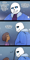 UT - Scene That Might Play When You Fight Sans by Atlas-White