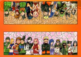 Naruto color  road to ninja cleaning written by Ulquiorra90