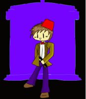 Dr Who Chibi for Chknut by knuxieluver