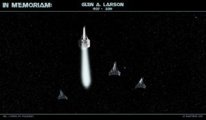 In Memoriam  Glen A Larson by dragonpyper