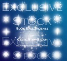 Glow Ball Brush Exclusive Stock by CelticStrm-Stock