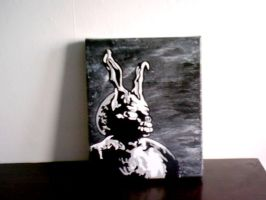 My donnie darko painting by pimpsauce