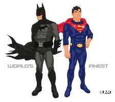 World's Finest Redesign by Bunk2