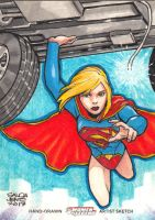 DC Women of Legend - SUPERGIRL by JASONS21