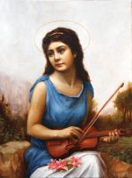 Saint Cecilia by Lasarasu