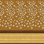 Wall Panel with Butterflies by allison731
