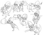 Reilly O'Stair Action Poses by CommissarKinyaf