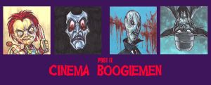 POST IT CINEMA BOOGIEMEN PART III by QuinteroART