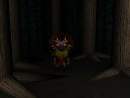 Skull Kid Forest by LafiLoyahl