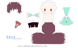 Seto Papercraft by aikaaa