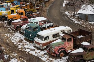 At The Goldking Mine Ghost Town Tonka Trucks? by Mac-Wiz