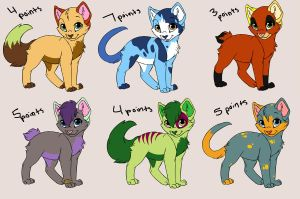 Point Adoptables by FiyeroTheOmega