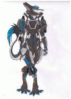 heavy sergal armor by whitewolf0272