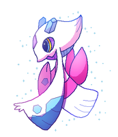 Shiny Froslass Pixel by Miss-Callie-Rose