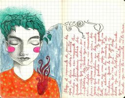 Form - journal21 by LadyOrlandoArt