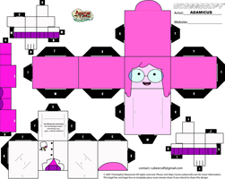 Cubeecraft AT - Princess Bubblegum #3 by adam1875