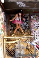 graffiti queen IV by paradoxphotography