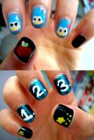 Nails: Mawaru Penguindrum by tykhm
