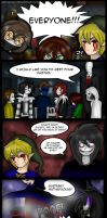 [CreepyPasta Comic] The Proteges PAGE 1 by JasDavINK