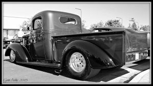 Pro 37 Chevy bw by StallionDesigns