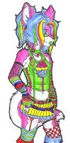Candy Raver by Anthrolicious