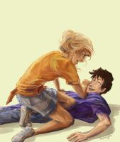 Percabeth Reunion by taratjah