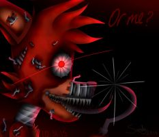 -Nightmare Foxy- by Sanity-Paints