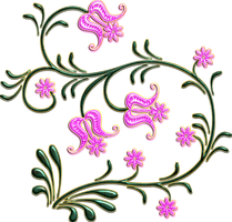 pink flowers png by Melissa-tm