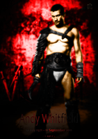 RIP Andy Whitfield Poster by Grasuc