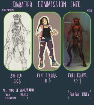 Character Commission Info [2017] by MinemikoMali
