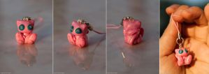 Mew Cell Phone Charm by Len-Corcino