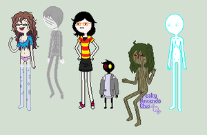 The Horror OCT: Adventure Time Style by FreakyZombieChick