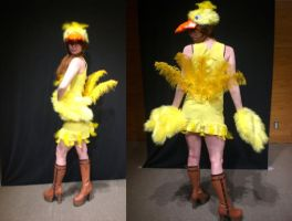 Chocobo cosplay complete by Dolly-chan