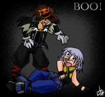 Nightmare Sora Has Some Fun by liliy