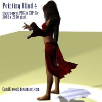 Pointing Blind 4 by CandG-stock