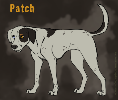 Feral Dog Character- Patch by Tephra76