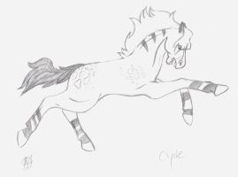 Clyde consept drawing by Changeling007