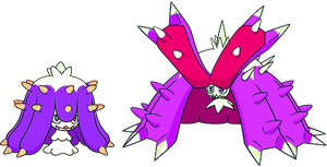 Alternate Shinies: Mareanie and Toxapex 2