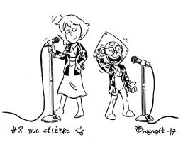 Defidessins2017: #08 famous duo :) by SuperSaf