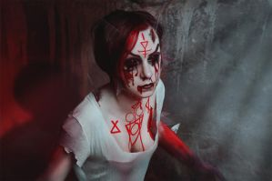 Bloody Mary  cosplay - 1 by Dokura-chan