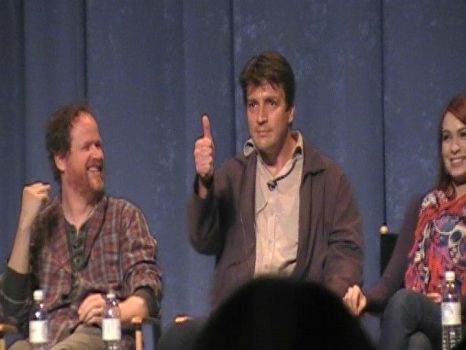 Nathan Fillion Thumbs Up by RedMedKit