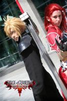 FFVII: DoC, Cloud and Rosso by RoxyRoo