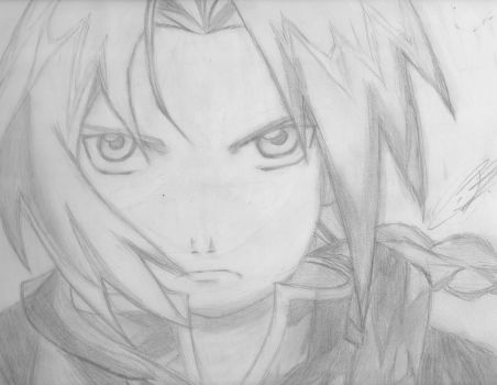 Edward Elric by Starbrite234
