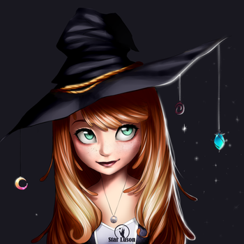 Nara the witch by starluson