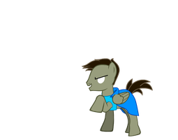 HEROBRINE Pony by TheRainbowDashieLove