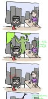 What the Avengers were doing during Spiderman by mysteriousshamrock