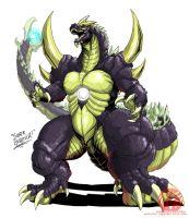 Godzilla Neo - SUPER GODZILLA by KaijuSamurai