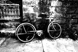 Black and White A Ride by GONE-EVERLONG
