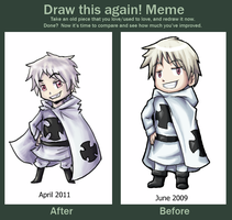 Embarrassing Draw Again Meme by Frostpebble
