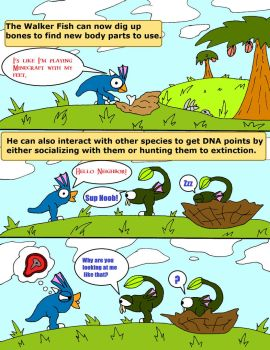 Le Spore Adventures. Page 9: Sup Noob (Part 2) by thelakotanoid1